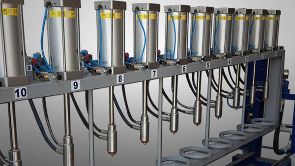 LPG Cylinder Hydrostatic Testing Unit