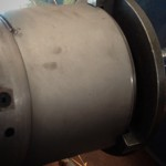 LPG Cylinder Bottom Ring Welding Machine