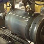 LPG Cylinder Double Head Body Welding Machine