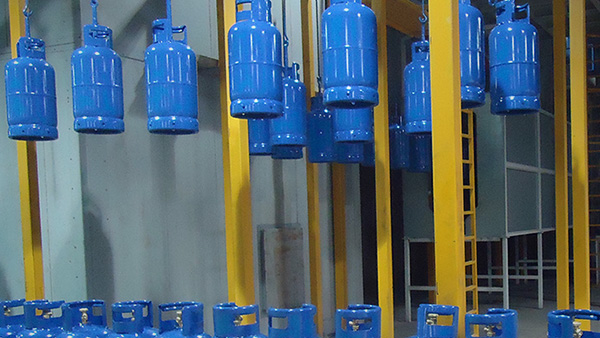 LPG Cylinder Painting Line