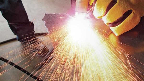LPG Cylinder Plasma Cutting