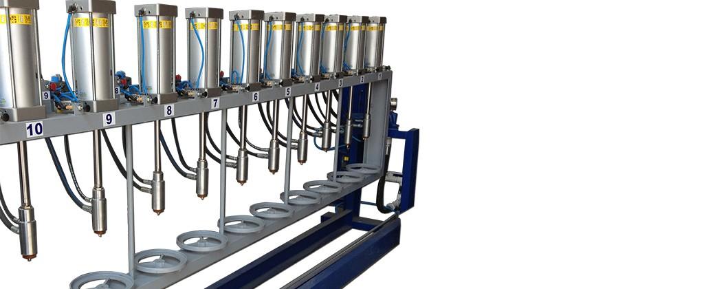 ROK Teknik LPG Cylinder Hydrostatic Testing Unit