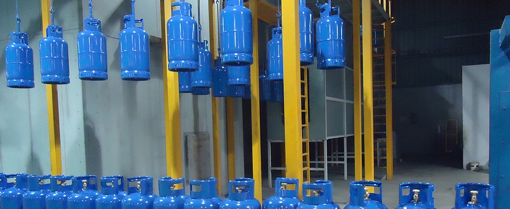 ROK Teknik LPG Cylinder Painting Line