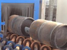 LPG Cylinder Shot Blasting