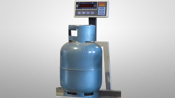 LPG Cylinder Weighing and Stamping